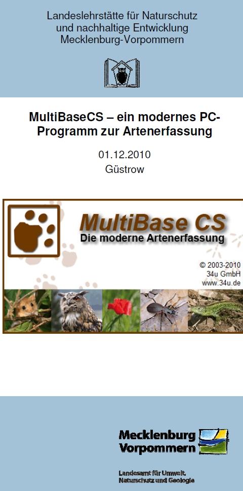 Flyer MultiBaseCS-Veranstaltung