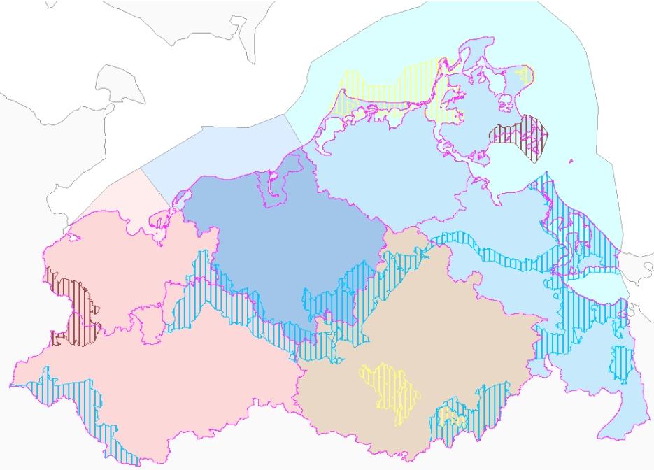 Karte Naturschutzverwaltung