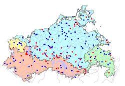 Karte Pegelmessnetz